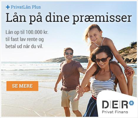 anmeldelse af D:E:R Privatlån plus
